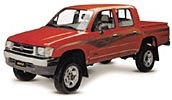 Pickup trucks for rent in chile 4x2 and 4x4